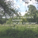 Snippertje inspiratie: Life is a balance