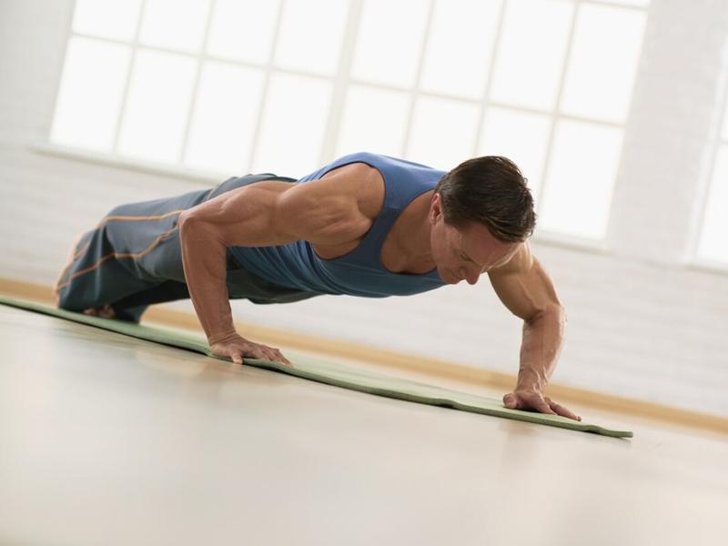 pilates voor mannen
